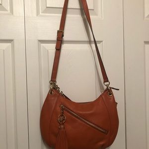 Orange Michael Kors handbag